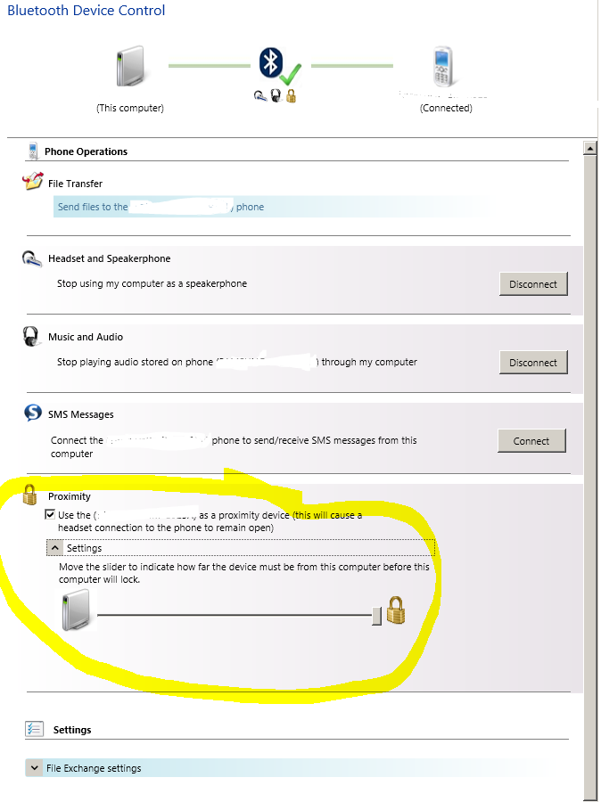 Bluetooth Proximity Unlock Sofware